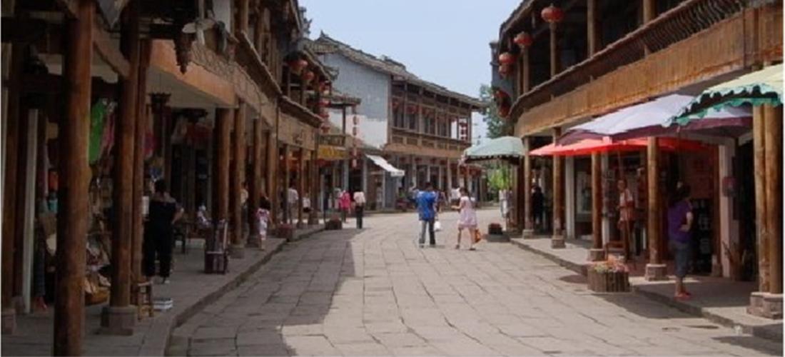 黄龙溪古镇街景
