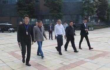 双流区检察院邹军平检察长一行调研集团公司